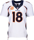 Football Collectibles:Uniforms, 2013 Peyton Manning Game Worn Denver Broncos Jersey - Record Setting 5th MVP Season (Photo Matched to 9/15 vs. Giants) !...