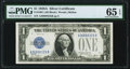 Small Size:Silver Certificates, Fr. 1601 $1 1928A Silver Certificate. A-B Block. PMG Gem Uncirculated 65 EPQ.. ...