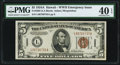 Small Size:World War II Emergency Notes, Fr. 2302 $5 1934A Hawaii Federal Reserve Note. PMG Extremely Fine 40 EPQ.. ...