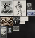 Autographs:Others, Heisman Trophy Winners Signed Memorabilia Lot of 11.... (Total: 12 items)