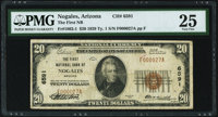 Nogales, AZ - $20 1929 Ty. 1 The First National Bank Ch. # 6591 PMG Very Fine 25