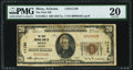 National Bank Notes:Arizona, Mesa, AZ - $20 1929 Ty. 1 The First National Bank Ch. # 11130 PMG Very Fine 20.. ...