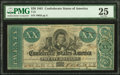 Confederate Notes:1861 Issues, T21 $20 1861 PF-3 Cr. 145 PMG Very Fine 25.. ...