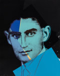 Prints:Contemporary, Andy Warhol (1928-1987). Franz Kafka, from Ten Portraits of Jews of the Twentieth Century, 1980. Screenprint in colo...