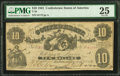 Confederate Notes:1861 Issues, T10 $10 1861 PF-16 Cr. 36 PMG Very Fine 25.. ...