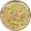 1795 $5 Small Eagle, BD-2, R.6 -- Repaired -- PCGS Genuine. XF Details