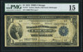 Fr. 727 $1 1918 Federal Reserve Bank Note PMG Choice Fine 15