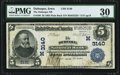 Dubuque, IA - $5 1902 Plain Back Fr. 598 The Dubuque National Bank Ch. # (M)3140 PMG Very Fine 30
