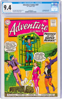 Adventure Comics #267 (DC, 1959) CGC NM 9.4 Off-white to white pages