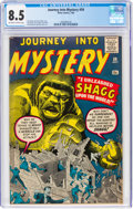 Silver Age (1956-1969):Mystery, Journey Into Mystery #59 (Marvel, 1960) CGC VF+ 8.5 Off-white to white pages....