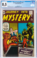 Silver Age (1956-1969):Horror, Journey Into Mystery #74 (Marvel, 1961) CGC VF+ 8.5 White pages....