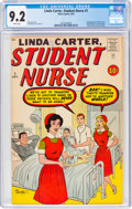 Silver Age (1956-1969):Humor, Linda Carter, Student Nurse #1 (Atlas, 1961) CGC NM- 9.2 White pages....