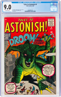 Tales to Astonish #9 (Marvel, 1960) CGC VF/NM 9.0 Off-white pages