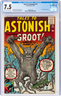 Tales to Astonish #13 (Marvel, 1960) CGC VF- 7.5 Off-white to white pages
