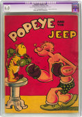 Platinum Age (1897-1937):Miscellaneous, Feature Books #nn Popeye and the Jeep (David McKay Publications, 1937) CGC Apparent FN 6.0 Extensive (P) Cream to off-white pa...