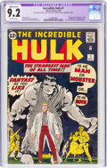 Silver Age (1956-1969):Superhero, The Incredible Hulk #1 Married Cover (Marvel, 1962) CGC Ap...