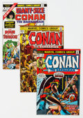 Bronze Age (1970-1979):Adventure, Conan the Barbarian Group of 73 (Marvel, 1973-84) Condition: Average VF.... (Total: 73 )