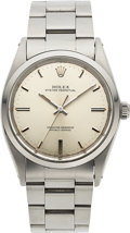 Timepieces:Wristwatch, Rolex, Ref. 1018, 36mm Oyster Perpetual, Stainless Steel, Circa 1969. ...