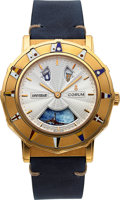Timepieces:Wristwatch, Corum, Admirals Cup Automaton Quarter Repeater Anniversary, 18k Gold, Ltd Ed. No. 7/15, Circa 1999. ...