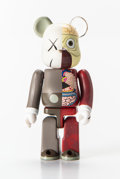 Collectible:Contemporary, KAWS X BE@RBRICK. Dissected Companion 100%, 2008. Painted cast vinyl. 2-3/4 x 1-1/4 x 3/4 inches (7 x 3.2 x 1.9 cm). Sta...
