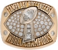 Football Collectibles:Others, 2002 Tampa Bay Buccaneers Super Bowl XXXVII Championship Ring Presented to Stadium Sponsor....