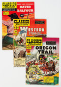 Golden Age (1938-1955):Classics Illustrated, Classics Illustrated #62, 72, and 94 Group (Gilberton, 1949-52) Condition: Average VF.... (Total: 3 )