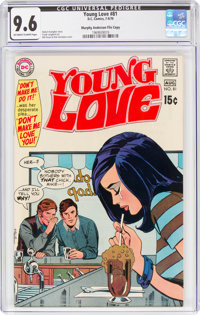 Young Love #81 Murphy Anderson File Copy (DC, 1970) CGC NM+ 9.6 Off-white to white pages