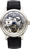 Timepieces:Wristwatch, Chopard, L.U.C Tourbillon 8-Day Power Reserve, Platinum, Ltd Ed. 25/50, Circa 2010's. ...