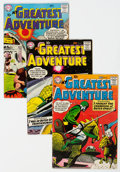 Silver Age (1956-1969):Adventure, My Greatest Adventure #21-30 Group (DC, 1958-59) Condition: Average VG.... (Total: 10 )