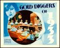 """Movie Posters:Musical, Gold Diggers of 1933 (Warner Bros., 1933). Very Fine. Lobby Card (11"""" X 14"""").. ..."""