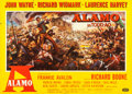 "Movie Posters:Western, The Alamo (United Artists, 1960). Folded, Very Fine-. Horizontal German A0 (46"" X 33""). Reynold Brown Artwork.. ..."