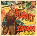 "Movie Posters:War, Sahara (Columbia, 1943). Very Fine- on Linen. Six Sheet (81"" X 79.25"").. ..."