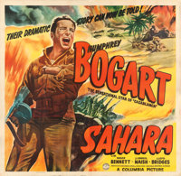 "Sahara (Columbia, 1943). Very Fine- on Linen. Six Sheet (81"" X 79.25"")"