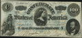 Confederate Notes:1862 Issues, T49 $100 1862 PF-1 Cr. 347 Extremely Fine.. ...