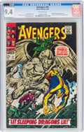Silver Age (1956-1969):Superhero, The Avengers #41 CVA Exceptional (Marvel, 1967) CGC NM 9.4 Off-white pages....