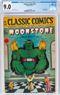Golden Age (1938-1955):Classics Illustrated, Classic Comics #30 Moonstone - First Edition (Gilberton, 1946) CGC VF/NM 9.0 Cream to off-white pages....