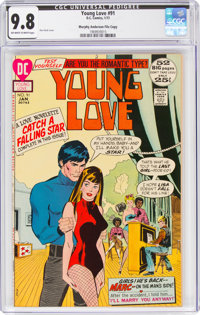 Young Love #91 Murphy Anderson File Copy (DC, 1972) CGC NM/MT 9.8 Off-white to white pages
