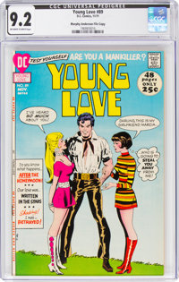 Young Love #89 Murphy Anderson File Copy (DC, 1971) CGC NM- 9.2 Off-white to white pages