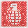 Fine Art - Work on Paper:Print, Jack Vitaly (20th century). Supreme Grenade, n.d.. Digital print in colors on smooth wove paper. 18 x 18 inches (45.7 x ...