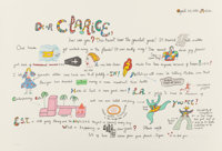 Niki de Saint-Phalle (1930-2002) Untitled, from Eight by Eight, 1983 Lithograph in colors