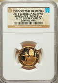 Great Britain: Elizabeth II gold Proof 25 Pounds 2012 PR70 Ultra Cameo NGC