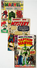 Silver Age (1956-1969):Miscellaneous, Comic Books - Assorted Silver to Bronze Age Comics Group of 15 (Various Publishers, 1959-72) Condition: Average GD.... (Total: 15 )