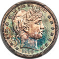 Proof Barber Quarters, 1910 25C PR65 PCGS. CAC....