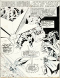 Original Comic Art:Splash Pages, John Buscema and Don Heck The Avengers #121 Splash Page 1 Iron Man, Thor, Scarlet Witch Orig...