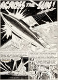 "George Roussos with Al Williamson Weird Fantasy #7 Splash Page for ""Across the Sun"" Original Art (EC Comics, 1..."