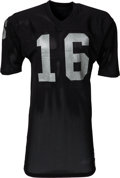 Football Collectibles:Uniforms, 1975 George Blanda Game Worn Oakland Raiders Jersey - ...
