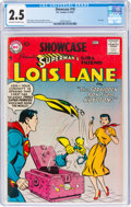 Silver Age (1956-1969):Superhero, Showcase #10 Superman's Girlfriend Lois Lane (DC, 1957) CGC GD+ 2.5 Off-white to white pages....