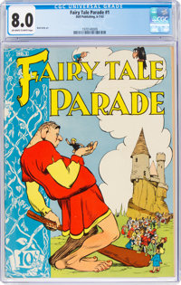 Fairy Tale Parade #1 (Dell, 1942) CGC VF 8.0 Off-white to white pages