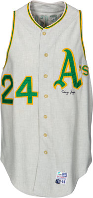 1970 Diego Segui Game Worn & Signed Oakland A's Jersey & Pants - ERA Title Season!