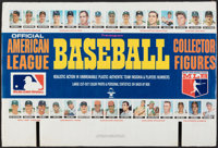 1969 Transogram American League Baseball Sales Display